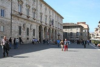 Giovan Battista Cavagna - Facade of Palazzo dell'Arengo, Ascoli Piceno