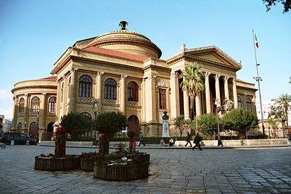 Comment aller à Teatro Massimo Vittorio Emanuele à Palermo ...