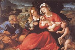 Palma Vecchio-Holy Family with St. John - Uffizi.jpg