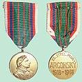 Pamětní medaile 22. střeleckého pluku aragonského.jpg