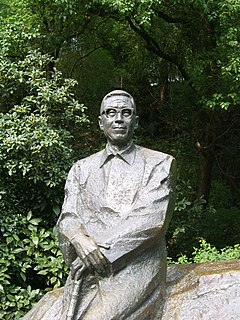 Pan Tianshou Chinese artist and historian