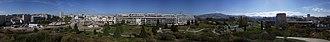 Parc du 26e Centenaire - Panoramic view of the park