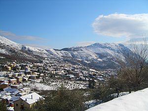 Vitulano - Image: Panorama vitulano