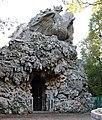 Parco di pratolino, appennino del giambologna, grotte e drago del foggini.JPG