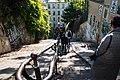 Paris 75018 Rue du Calvaire vers rue Gabrielle 20161030 (02).jpg