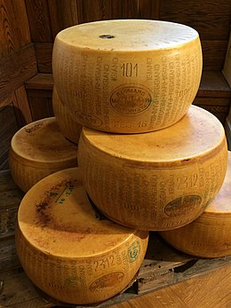 Parmigiano-Reggiano at Eataly in Stockholm.jpg