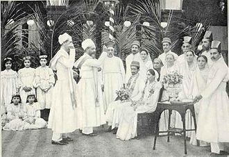 A Parsi Wedding, 1905 Parsee Wedding 1905.jpg