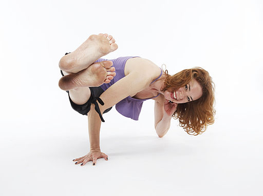 Parsva Bakasana - Side Crane with Elbow Support