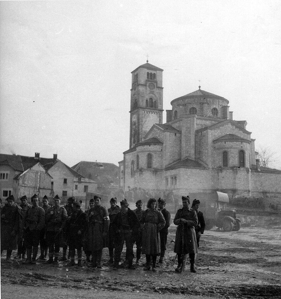 Partisans in Bihać 1942