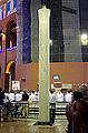 Paschal candle - Main altar - Basilica of Aparecida - Aparecida 2014.jpg