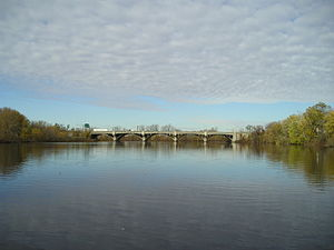 Passaic River - Passaic River in Bergen and Passaic Counties