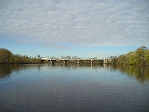 Passaic River - Passaic River in Bergen and Passaic Counties