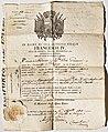 Passeport Modena - 1818 - Recto.jpg