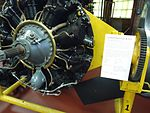 Paterson Museum (NJ) images (45) number 37 Early aircraft engine.jpg