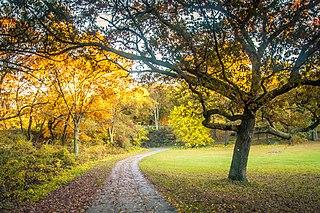 Franklin Park (Boston) Protected area in Massachusetts