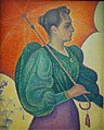 Paul Signac, Femme à l'ombrelle, 1893.jpg
