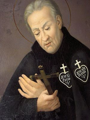 Paul of the Cross - Portrait of St. Paul of the Cross