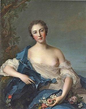 Pauline Félicité de Mailly - Pauline Félicité de Mailly-Nesle, marquise de Vintimille, by Jean-Marc Nattier