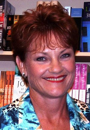 "Opposition to immigration - Pauline Hanson, in her maiden speech in 1996, said that Australia ""was in danger of being swamped by Asians""."