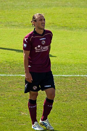 Paulinho (footballer, born January 1986) - Paulinho playing for Livorno in 2012