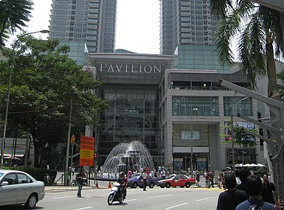 How to get to Pavilion Kuala Lumpur with public transit - About the place