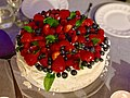 Pavlova cake with summer fruits, Brisbane, Queensland.jpg