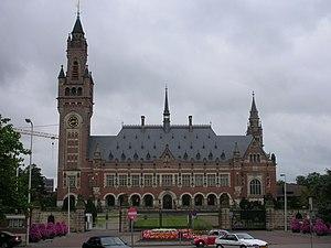 El Palacio de la Paz, sede de la Corte Internacional de Justicia