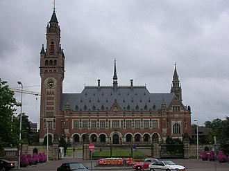 Command responsibility - Peace Palace in The Hague