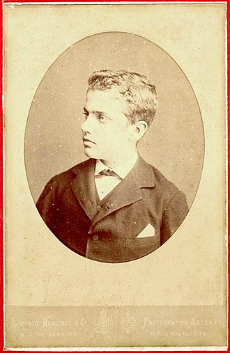 Prince Pedro Augusto of Saxe-Coburg and Gotha - Prince Pedro Augusto aged 11, 1877