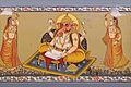 Peinture murale (Palais du Fort Meherangarh, Jodhpur) (8418402841).jpg