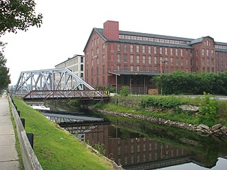 Pemberton Mill - The new Pemberton Mill, built shortly after the collapse of the first.