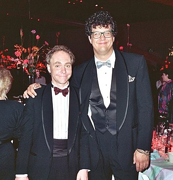 en: Penn & Teller, during the 40th Emmy Awards...