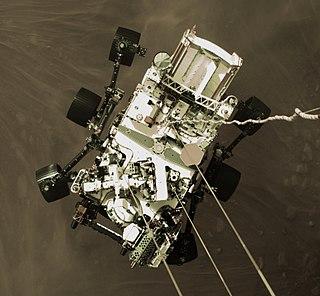 <i>Perseverance</i> (rover) NASA Mars rover deployed in 2021