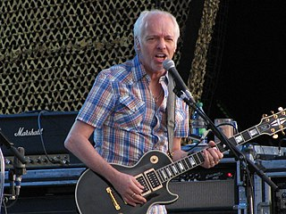 Peter Frampton English-American rock musician, singer, songwriter, producer, and guitarist