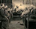Peter Ilsted En Oplæser i en Kafé i Cairo 1892.jpg