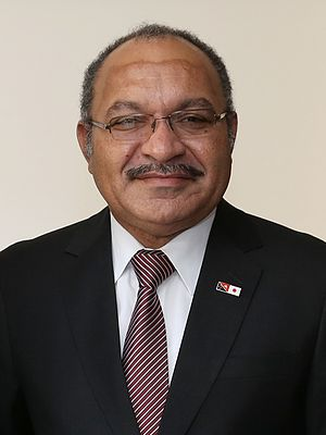 Prime Minister of Papua New Guinea - Image: Peter O'Neill May 2015