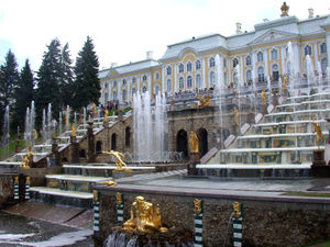 Nicola Michetti - Cascade at Peterhof