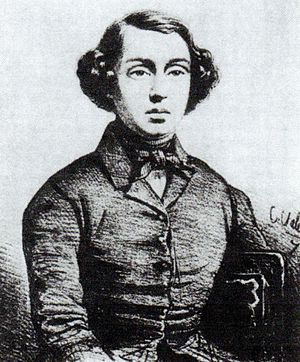 Marius Petipa - Portrait of Marius Petipa at about fifteen years of age. Circa 1833.