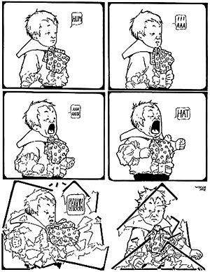 Little Sammy Sneeze (1904 06) by Winsor McCay