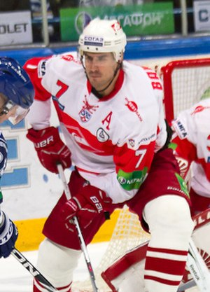 Ivan Baranka - Image: Petružálek, Kasutin, Baranka 2011 10 10 Amur—Spartak Moscow KHL game