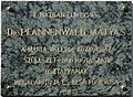 Pfannenwald Mátyás plaque (Balassagyarmat Nagy Iván u 5).jpg