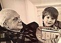 Philip José Farmer and his great-grandson in 1995.jpg