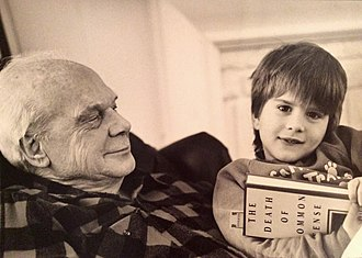 Philip José Farmer - Philip José Farmer and his great-grandson in 1995