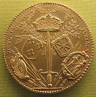 Philippe Danfrie - A medal by Philippe Danfrie (1590)