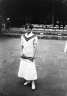 Phyllis Satterthwaite British tennis player