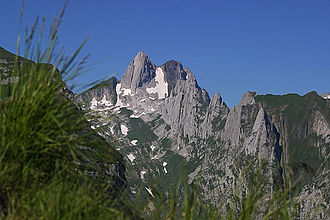 Altmann (mountain) - The east side