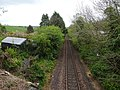 Pinmore railway station (site), Ayrshire (geograph 6163634).jpg