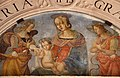 Pinturicchio e-o bartolomeo caporali, madonna col bambino e angeli, lunetta di santa maria della pietà, 1505 ca. 04.JPG