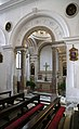 Pirano, san francesco, interno, cappella con decori lombardeschi, xv-xvi secolo 01.jpg