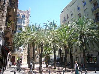 Gràcia - Plaça de Trilla en Gràcia